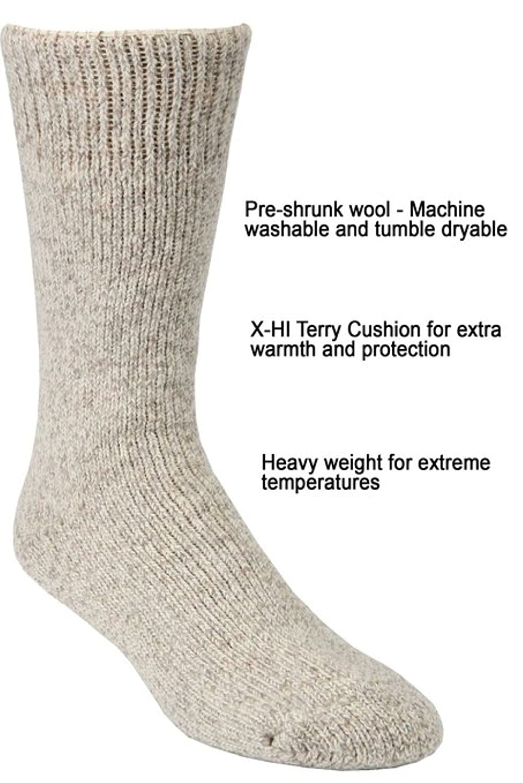 40 Below 2 Pairs JB Icelandic Arctic Trail Winter Wool Sock
