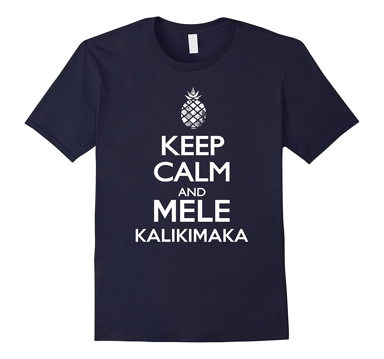 hawaiian christmas shirt Keep Calm and Mele Kalikimaka shirt-ANZ