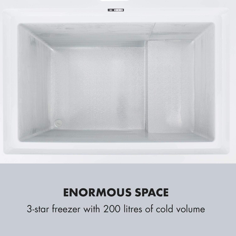 Klarstein Ice blokk congelador. Congelador 200 L - A+++ Blanco ...