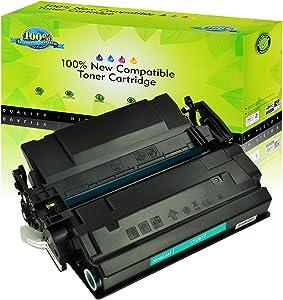 NineLeaf High Yield Compatible Toner Cartridge Replacement for HP 87X CF287X Laserjet Enterprise M506dn M506n M506 M506X Pro M501dn M501N MFP M527Dn M527Z M527F Laser Printer (1 Black)