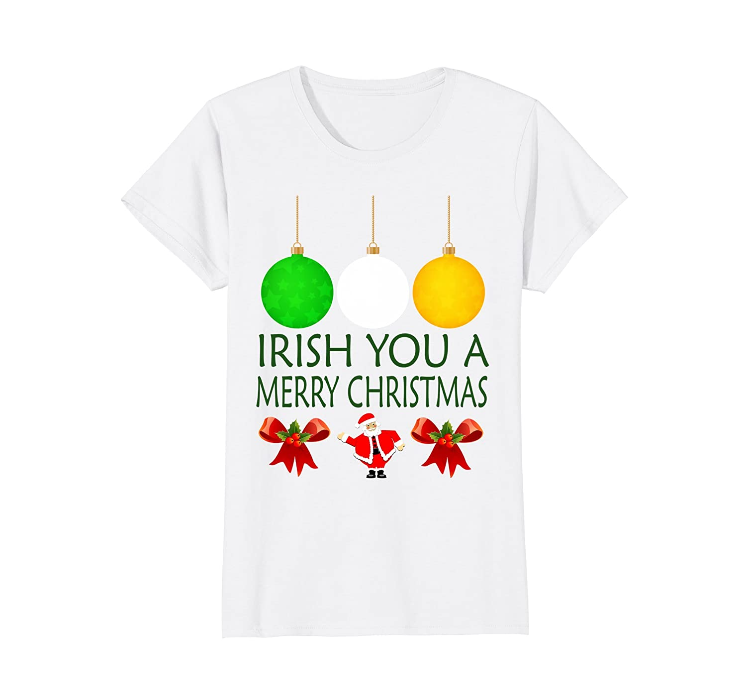 Amazon.com: Irish You A Merry Christmas Funny Ireland T-Shirt: Clothing