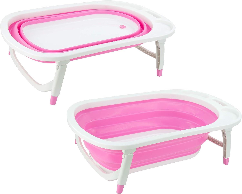 SQ Professional Foldable Baby Bath Blue