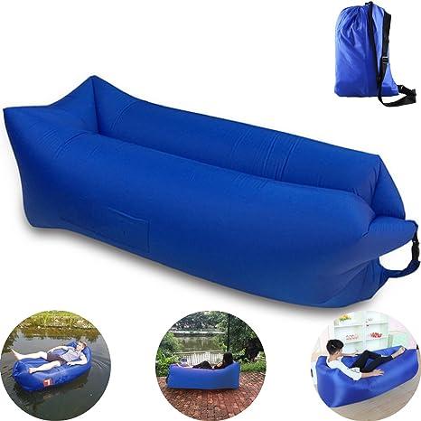 Versión 2.0 - 2017] Colchón hinchable, Lazy bag o sofá hinchable ...