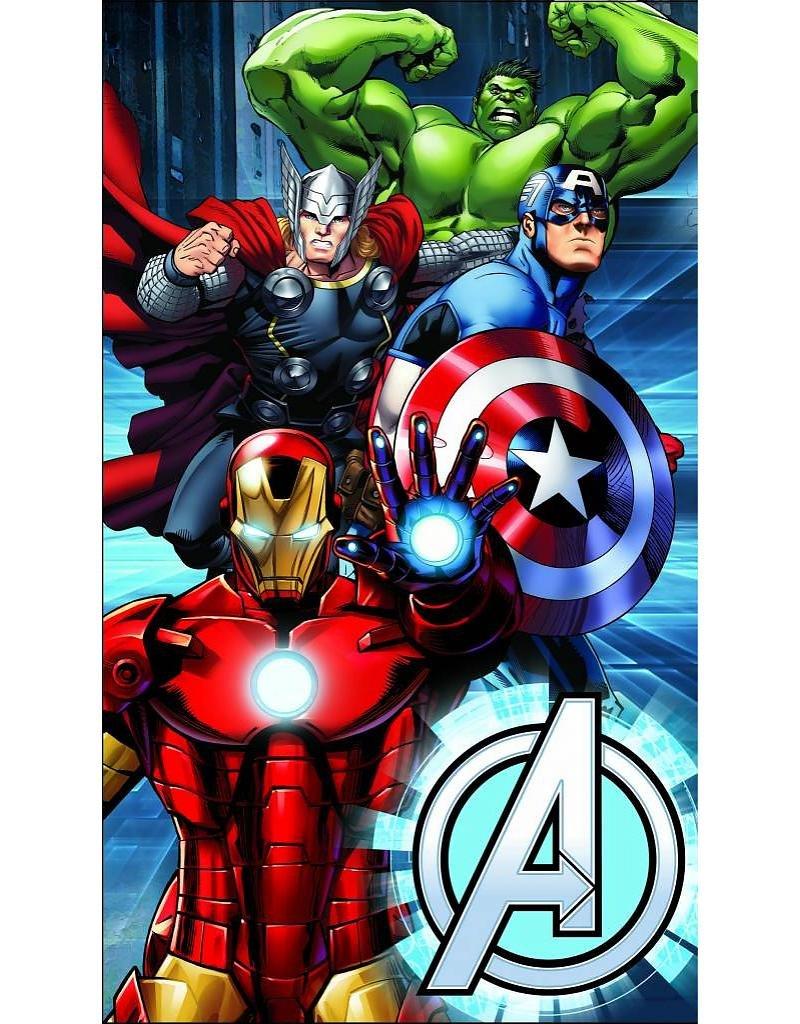 Avengers–Asciugamano–Asciugamano da bagno/spiaggia 75x 150cm–Metallo CTI