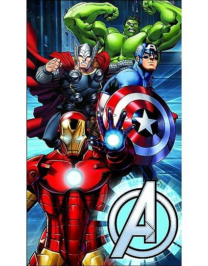 Avengers (Los Vengadores) - Toalla de baño/playa de 75 x