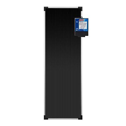 Sunforce 58033 Coleman 18 Watt 12-Volt Solar Battery Charger Kit, Durable Aluminum Frame and Shatterproof Tempered Glass, Amorphous Solar Technology, ...
