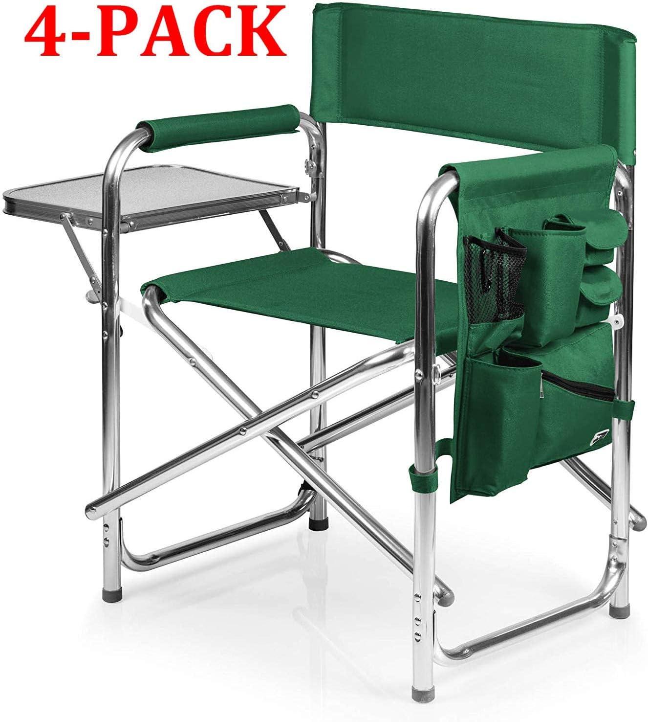 Hunter Green a Picnic Time brand Portable Folding Sports Chair ONIVA