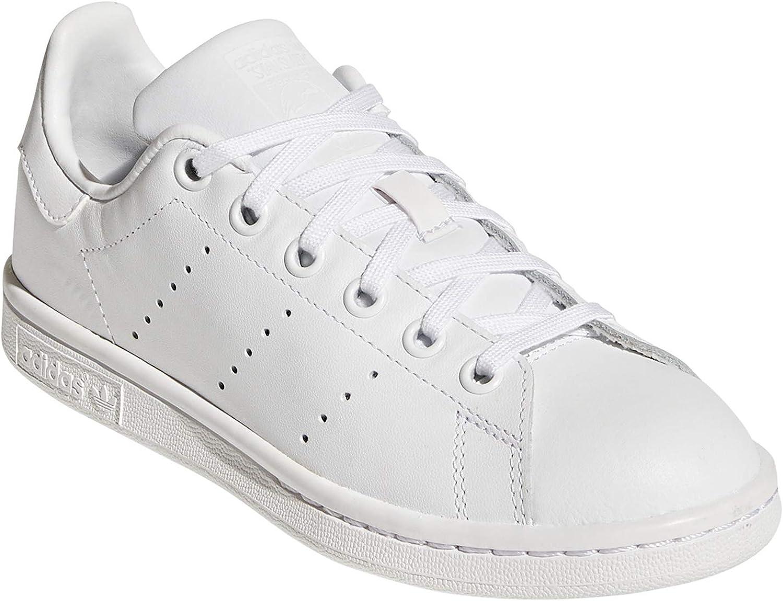 adidas Stan Smith.Chaussures Femme. Casual Sneaker. Tennis GS. Blanc Blanc Sg Plein Blanc