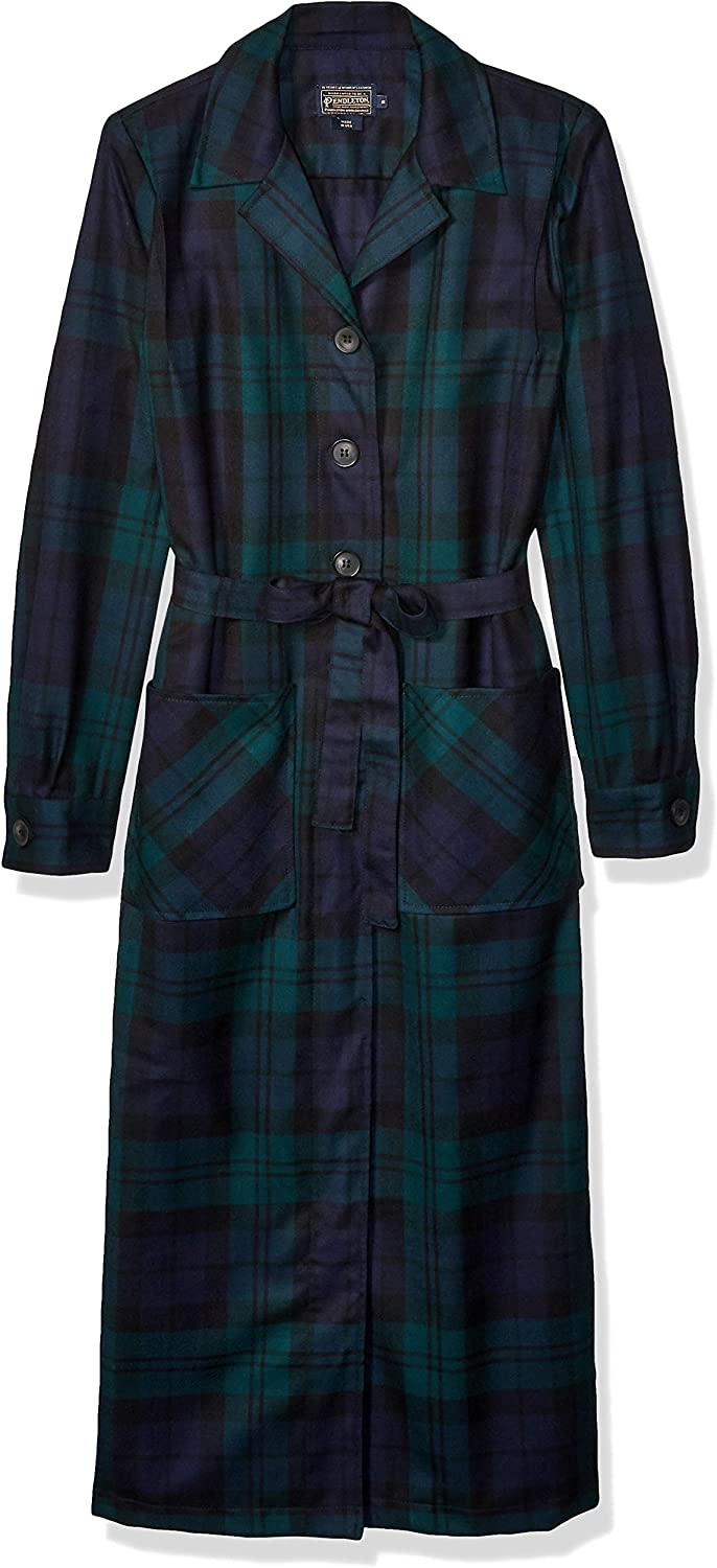 1930s Style Coats, Jackets | Art Deco Outerwear Pendleton Womens The 49er Coat Dress $199.44 AT vintagedancer.com