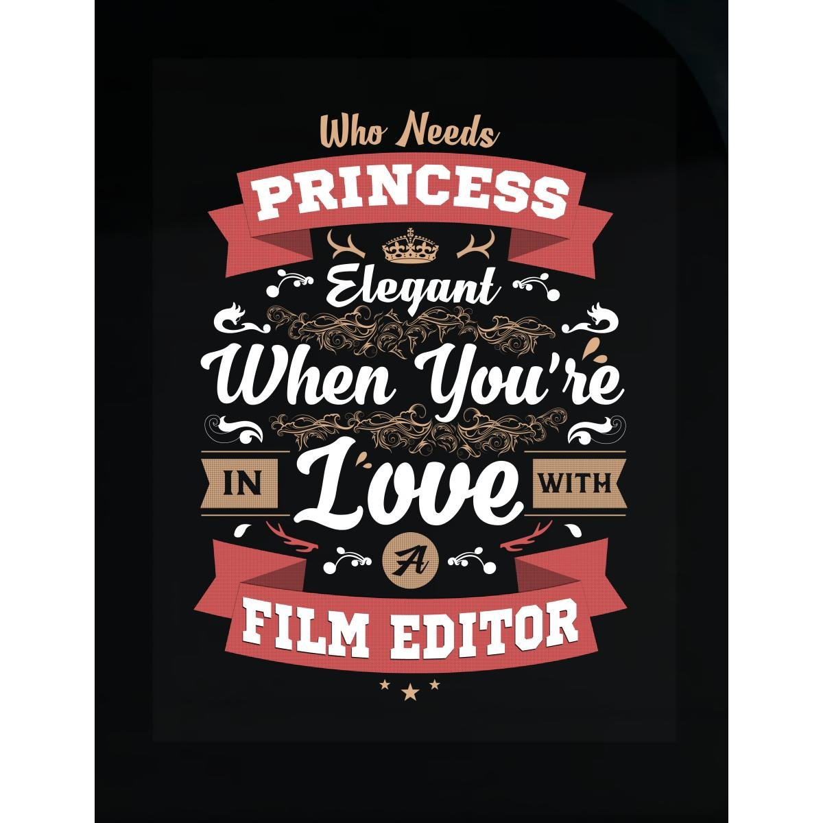 Amazon com inked creatively in love with a film editor sticker home kitchen