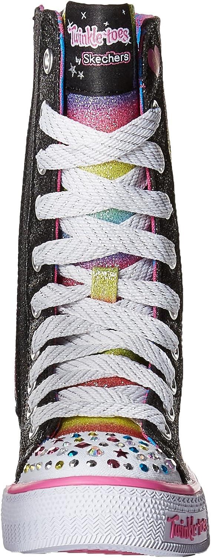 skechers twinkle toes womens grey