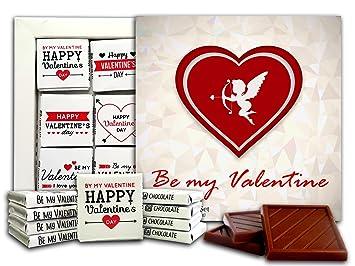 Amazon Com Da Chocolate Valentine Gift Set Happy Valentine S Day