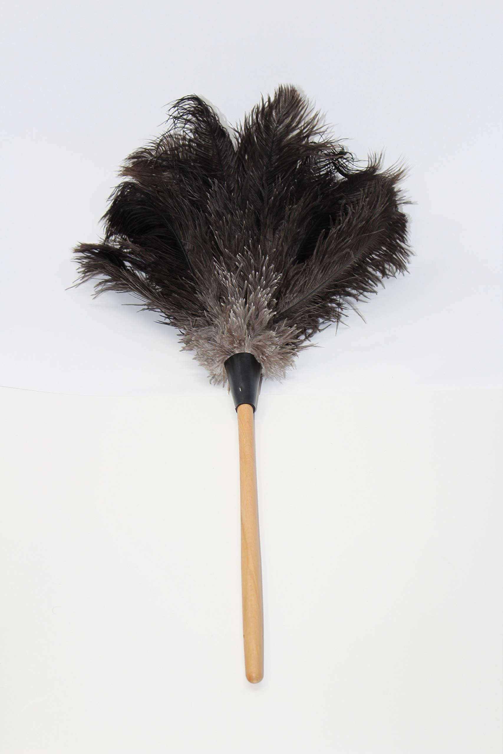 GM Royal Ostrich Feather Duster (Large GM03 (28''), Black)