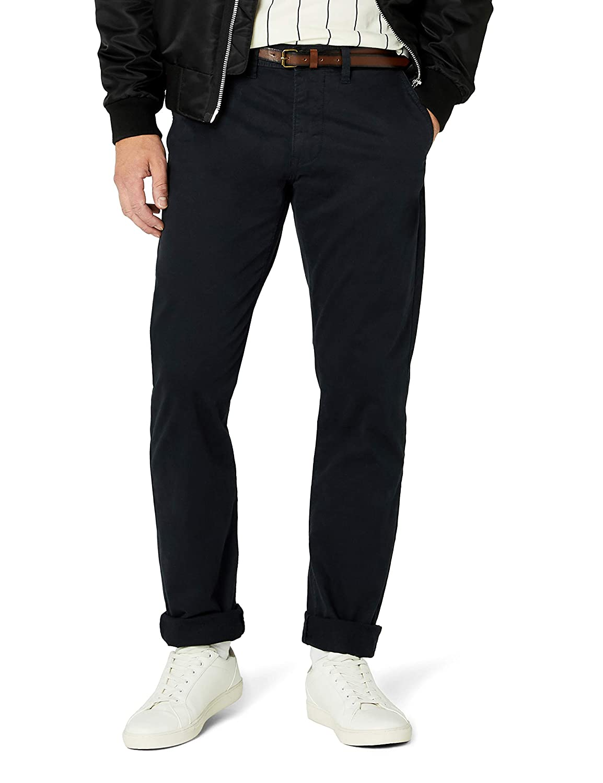 Pierre Cardin Deauville Fit Classic Cord, Pantalones para Hombre, Azul (Blau 84) W32/L34 (Talla del Fabricante: 32/34) amazon marrón