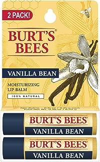 product image for Burt's Bees 100% Natural Moisturizing Lip Balm, Vanilla Bean, 2 Count