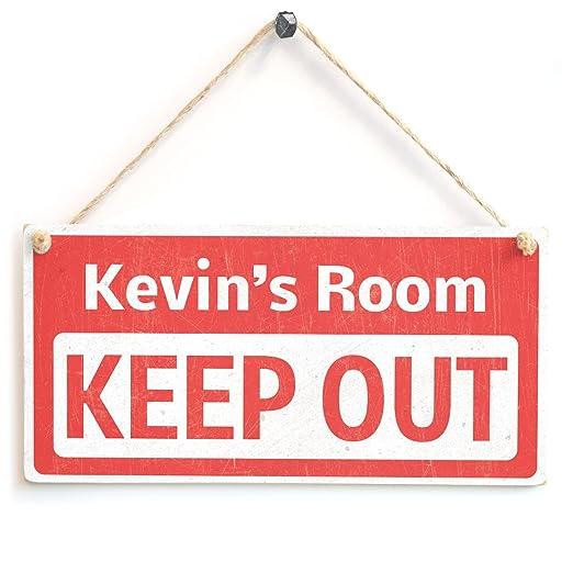 Keep Out - niños personaliseitonline dormitorio puerta ...