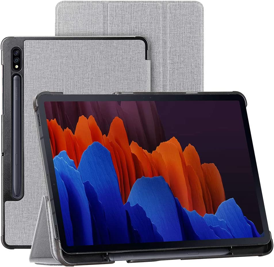 Foluu Galaxy Tab S7 Plus 124 2020 Case Smart Cover Slim Trifold Stand Case with Auto WakeSleep for Samsung Galaxy Tab S7 Plus 124 2020 SMT970T975 Tabl Online at Kapruka | Product# gsitem1452