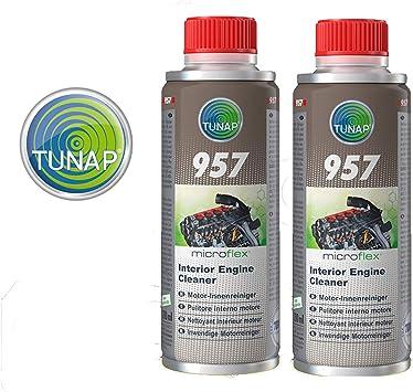 Tunap 157 Micro Logic Premium Reinigungsmittel Für Den Motor Innenraum Oder Für Den Schmierkreislauf 200 Ml 2 Stück Auto