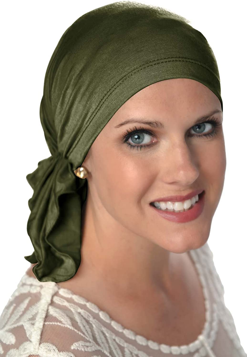 Cancer Headwear for Women False Headcovers Unlimited Slip-On Scarf