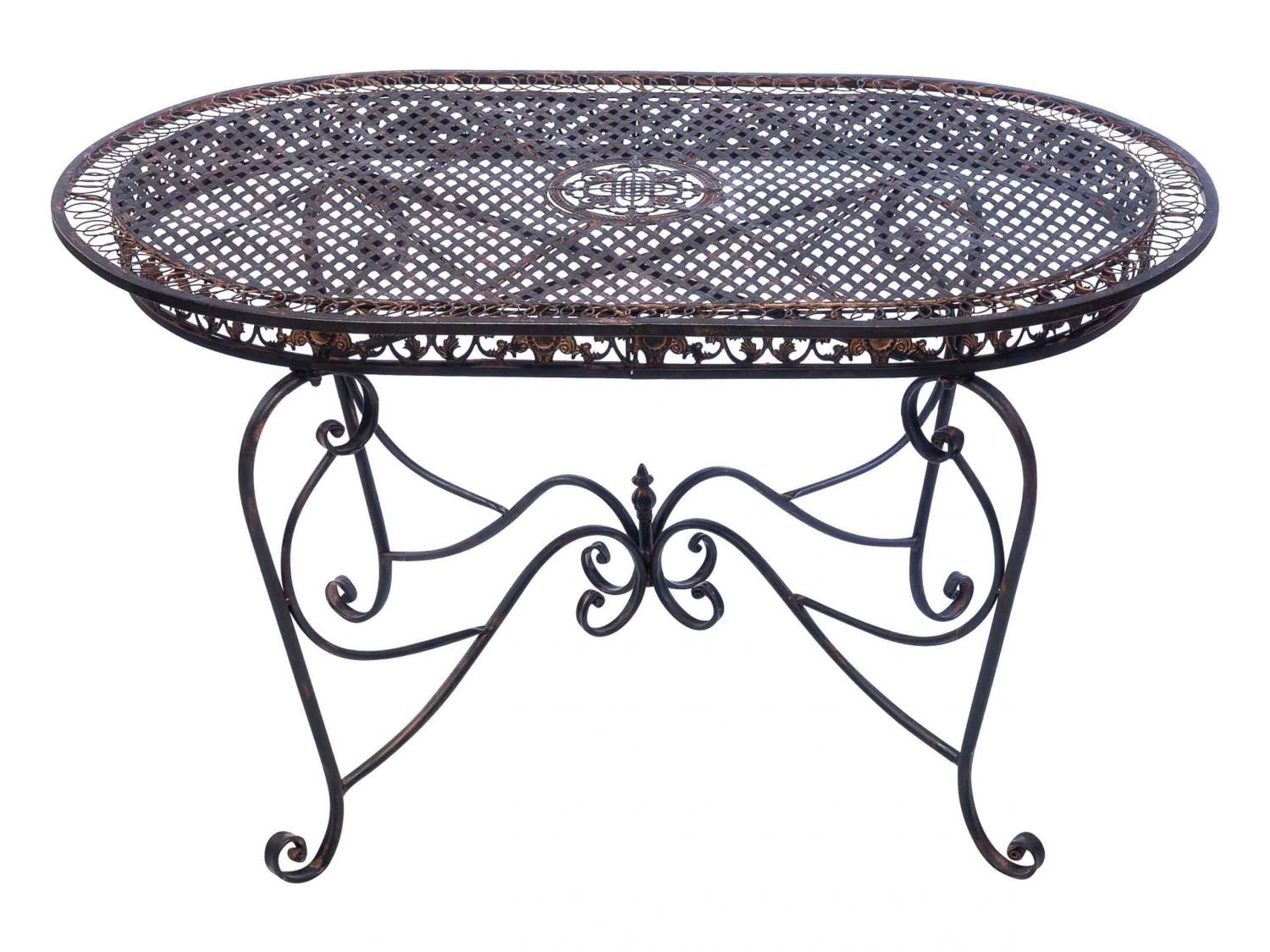 Awesome Gartentisch Cm Eisen Braun Tisch Gartenmbel Antikstil Garden Table  Iron Kaufen With Eisen Gartenmbel