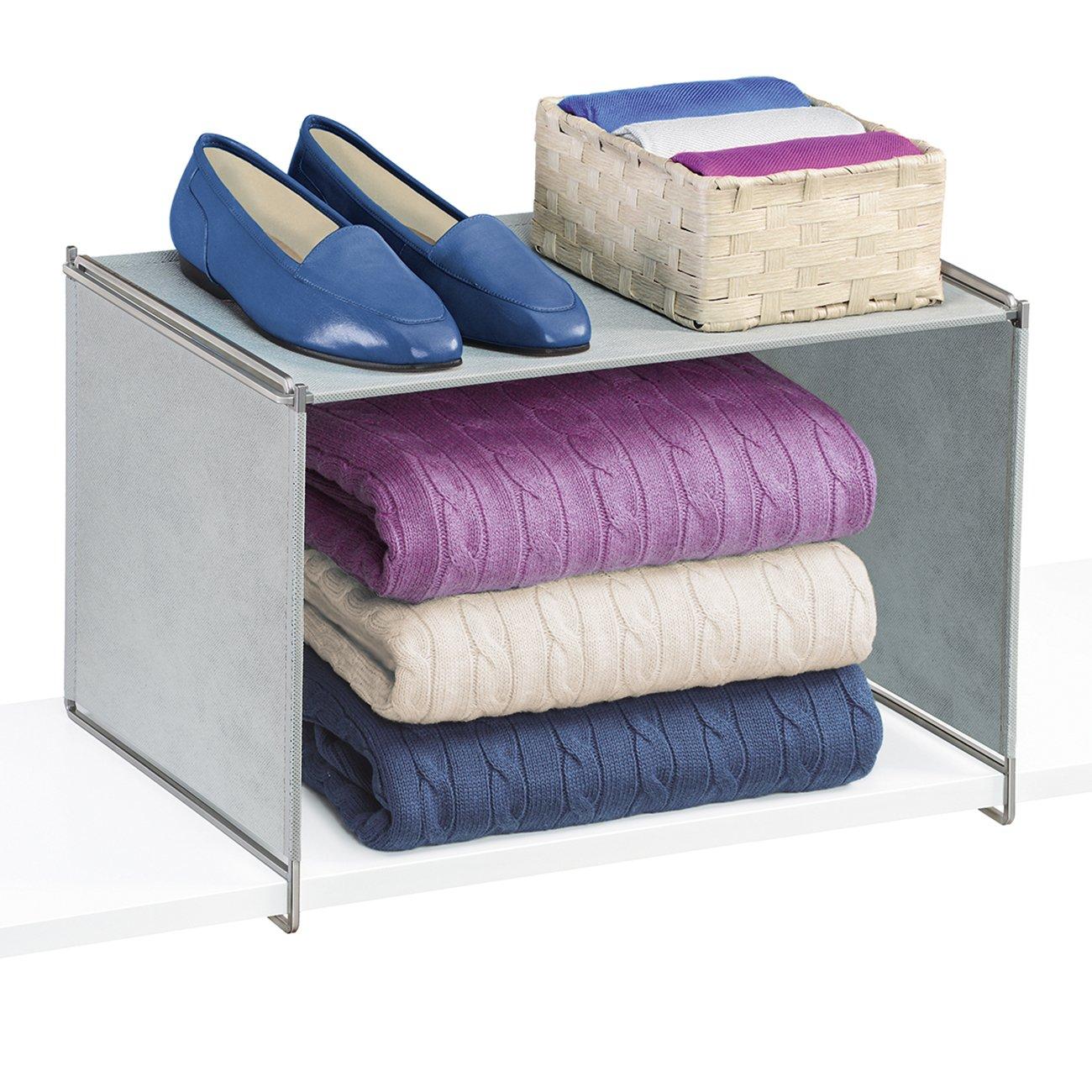 Amazon.com: Lynk Vela Locking Closet Shelf Organizer   Extra Shelf    Platinum: Home U0026 Kitchen
