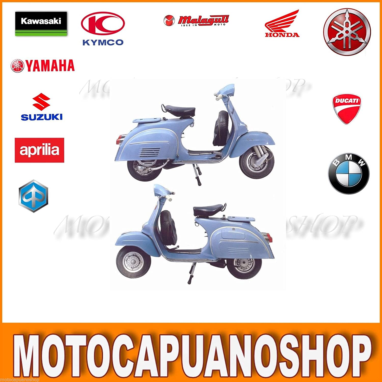Kit restauro rodillos a Vespa 150 125 Super puños Tiras Plataforma...: Amazon.es: Coche y moto