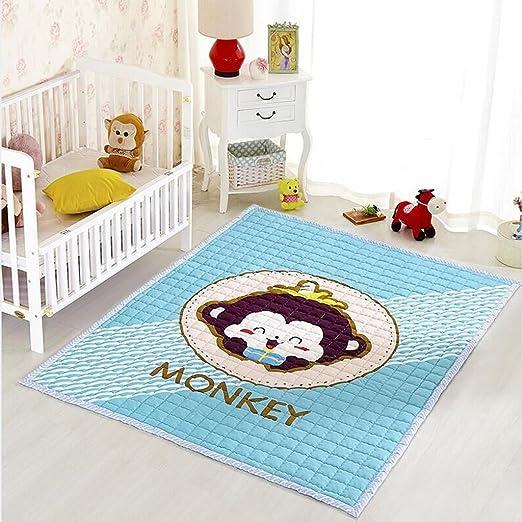 Fenfen Alfombrilla de algodón Acolchada para bebé, para Dormitorio ...
