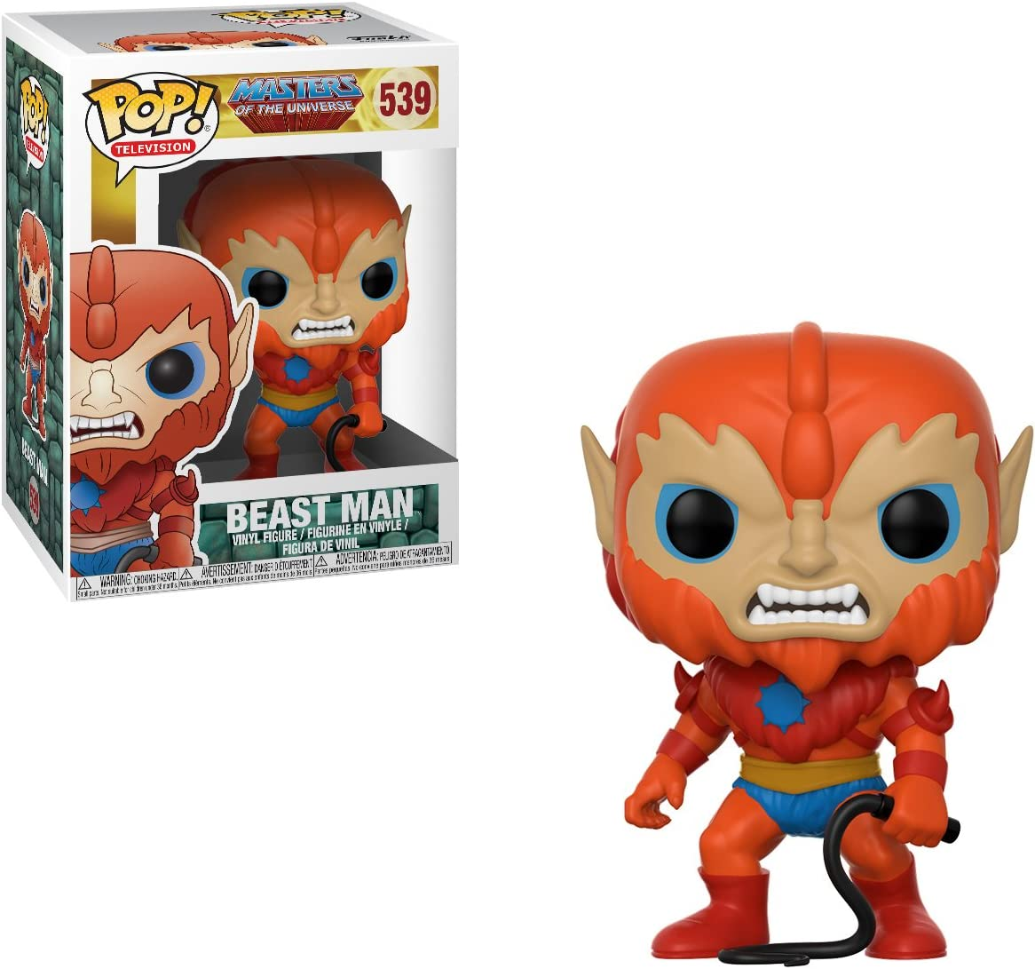 Masters of the Universe 21813 Beast Man Vinyl Figure Item No Funko Pop TV