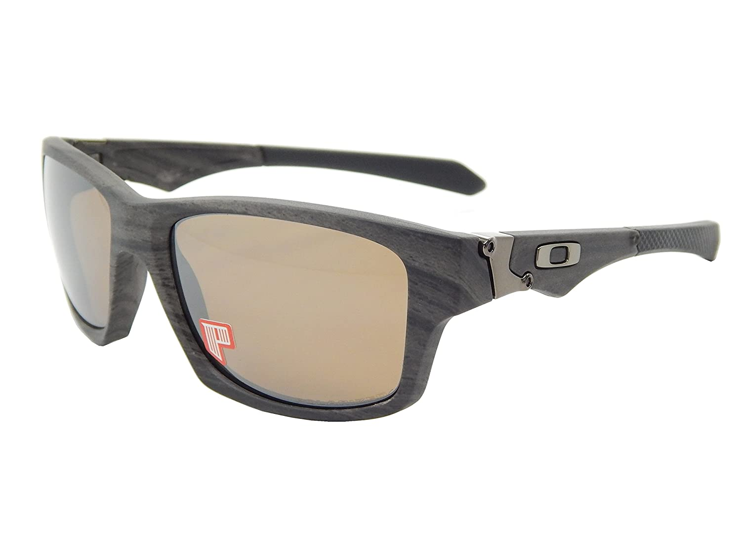 93ba911078 Oakley Jupiter Squared 9135-07 Woodgrain  Tungsten Iridium Polarized  Sunglasses  Amazon.ca  Sports   Outdoors