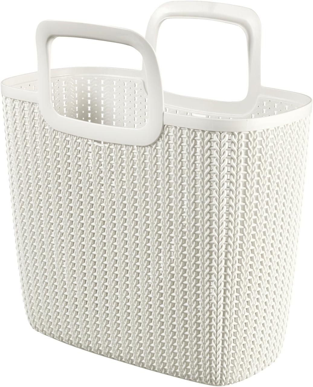 CURVER 3253923972009 Shopping Bag - Shopping Bags (Reusable Shopping Bag, Color Blanco, Prendas de Punto): Amazon.es: Hogar
