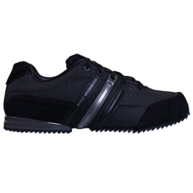 6d665f0674c33b adidas Y-3 Sprint Trainers Core Black UK 10.5  Amazon.co.uk  Shoes ...