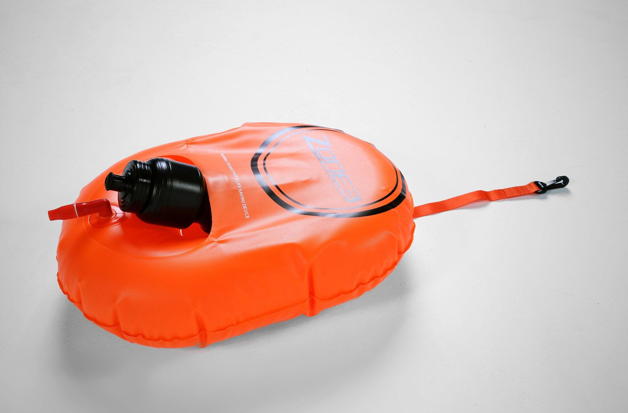 2016 Zone3 Swim Buoy/Dry Bag Mini Hydration Control