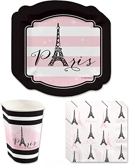 Amazon.com: París, Ooh La La Paris – Themed Baby Shower o ...