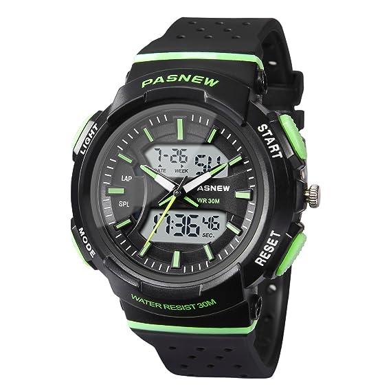 Hiwatch Reloj para Niños Reloj Deportivo Impermeable Nadando Niños Niñas Relojes  de Led Digital para Niños de 7 Años de Edad Estudiantes  Amazon.es  Relojes f28fa09231e1