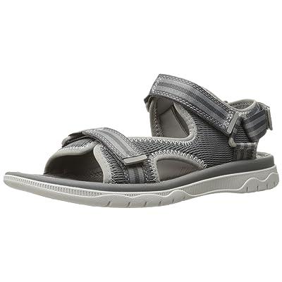 CLARKS Men's Balta Sky Huarache Sandal Grey Synthetic 9 D- Medium | Sandals