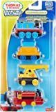 Thomas and Friends Collectable Railway Toy - Steamworks Repair Diecast 4 Pack - Victor Engine Kevin Train