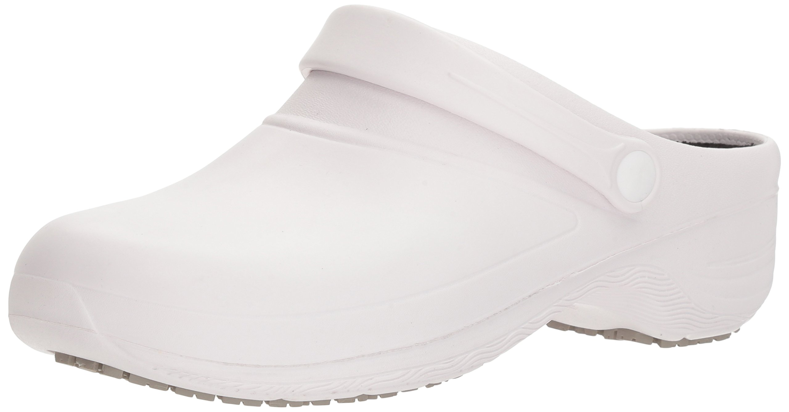 Easy Works Women's Time Health Care Professional Shoe, White, 5 M US