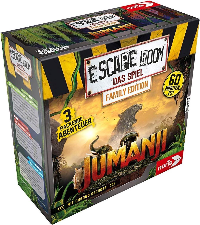 Noris 606101837 Escape Room - Juego de Mesa (en alemán): Amazon.es ...