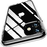 iPhone 11 ケース 6.1インチ 耐衝撃 ワイヤレス充電対応 クリア 薄型 軽量 透明カバー 衝撃吸収 四隅滑り止め 黄変防止 一体型 6.1インチ スマホケース