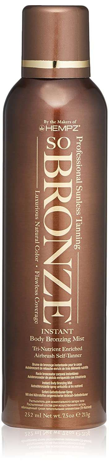 Hempz Hempz so bronze sunless airbrush tanning spray, 7.5 fl oz, 7.5 fluid_ounces 676280010000