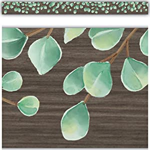 Teacher Created Resources Eucalyptus Straight Border Trim (TCR8685)
