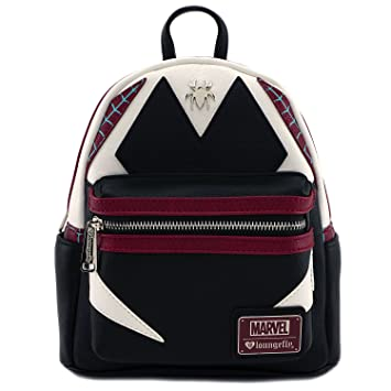 ba3db73d6ac4 Amazon.com   Loungefly Marvel Spider Gwen Cosplay Faux Leather Mini Backpack  MVBK0029   Beauty