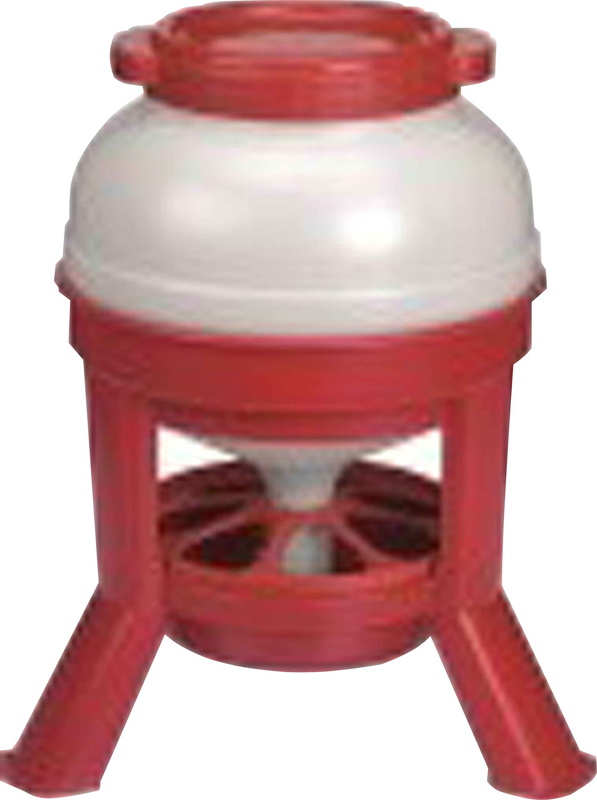 LITTLE GIANT DOMEFDR35 Plastic 35 lb. Dome Feeder by LITTLE GIANT