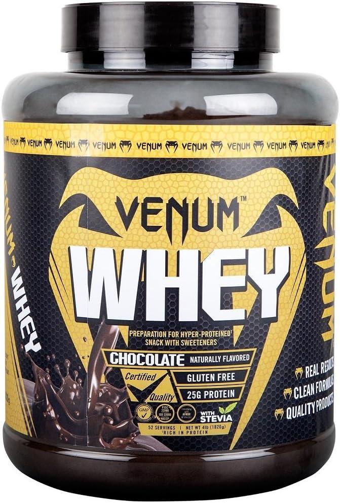 Venum Proteína Whey, 52 raciones, Sabor Chocolate - 1820 gr