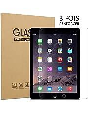 ZEBLUN Verre Trempé pour iPad 2018/2017 - Adsorption Intelligente, Bord d'arc 2.5D, Verre Trempe pour iPad air 2/1, Film Protection Ecran pour iPad 2018/2017, iPad Pro 9.7 Pouces, Lot de 1