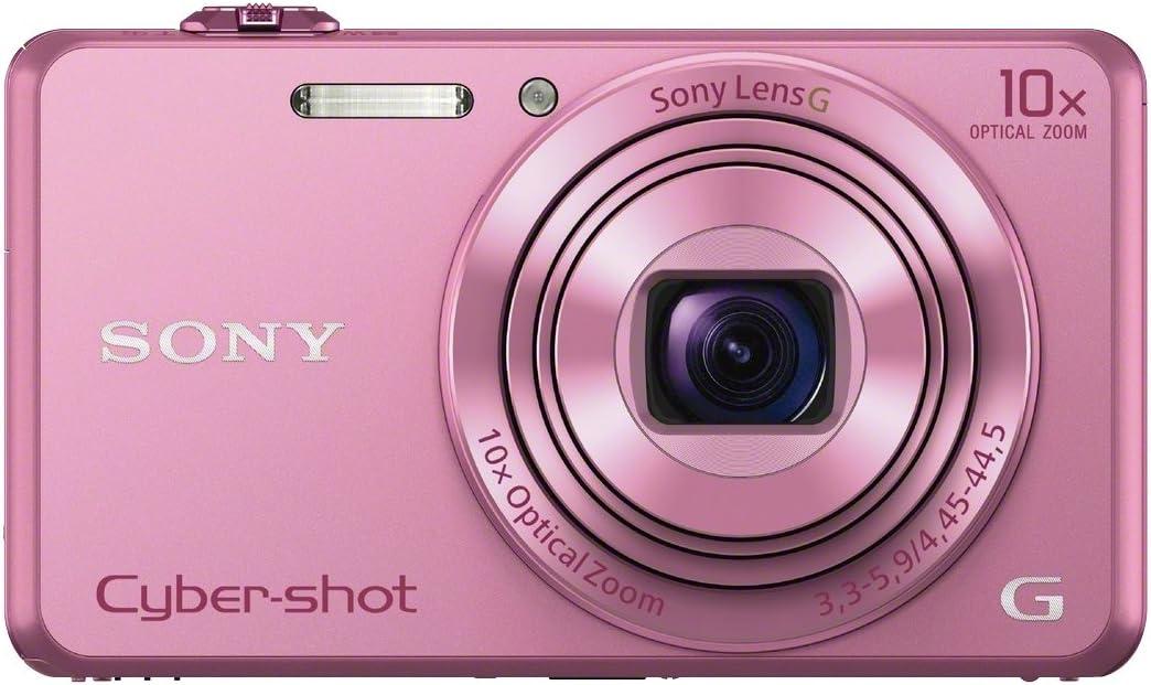 Sony Dsc Wx220 Digitalkamera 2 7 Zoll Pink Kamera