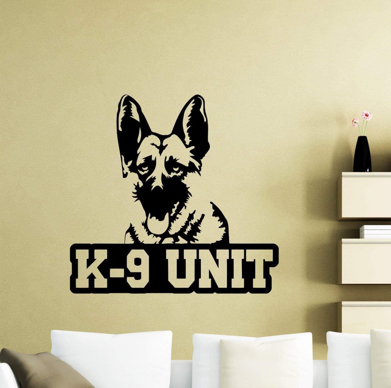 pegatinas de pared navidad K9 Perro Tatuajes de Pared Policía ...