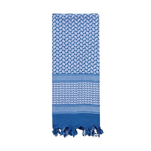 Amazon.com  8537 Rothco Shemagh Tactical Desert Scarf (Blue White ... 4e43ab5e39