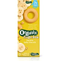 Organix Fingerfoods Organic Banana Baby Biscuits, 54g