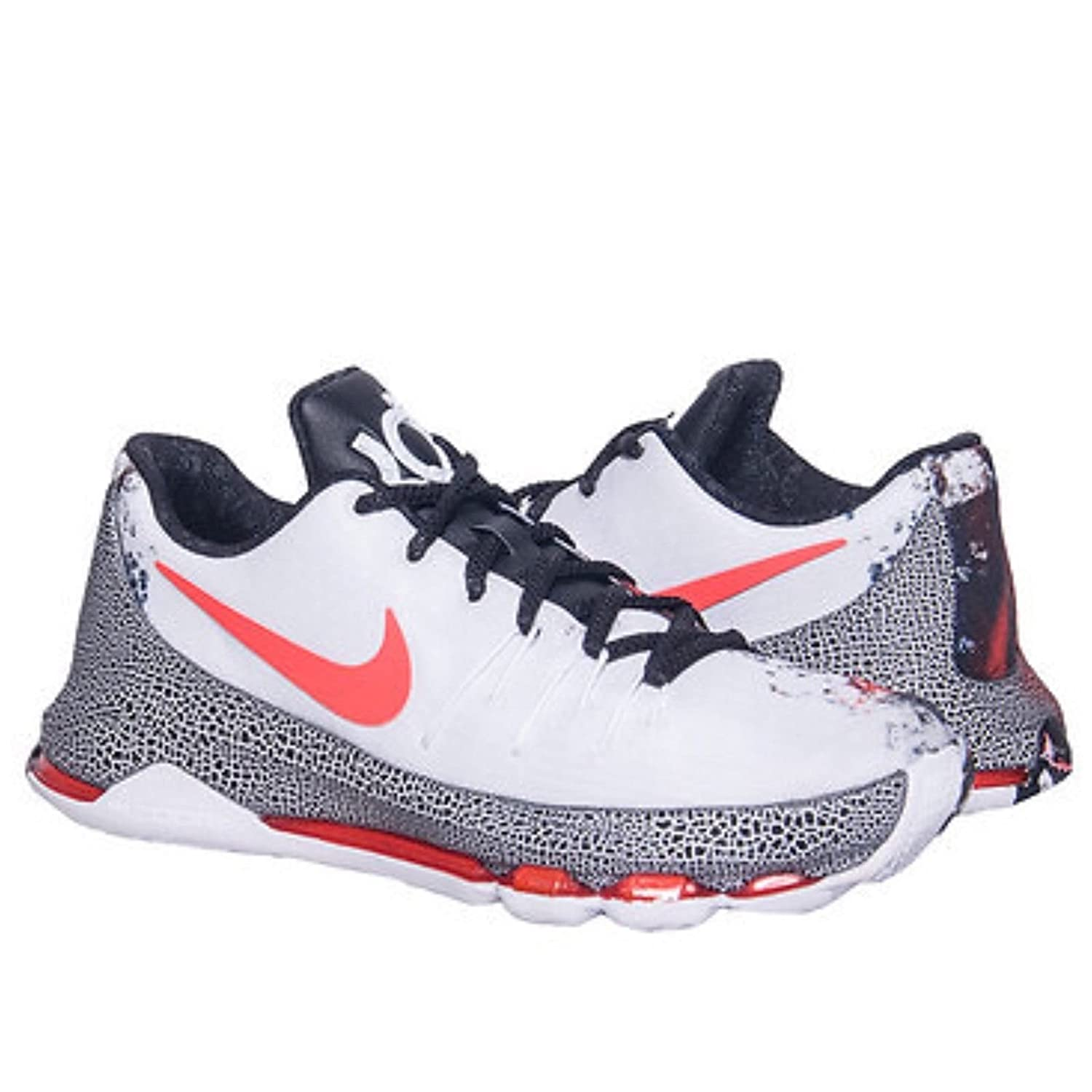 size 40 2121a 5ea50 Amazon.com   Nike 824464-106 KD 8 VIIII Christmas GS White Black Red Kids  Shoes Size 6.5Y   Running